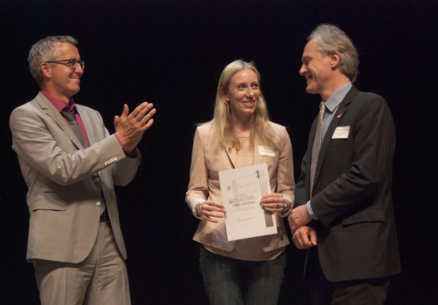 mit Debbie Chennels (Ford Foundation) und Dr. Wolfgang Hennig (Ford)