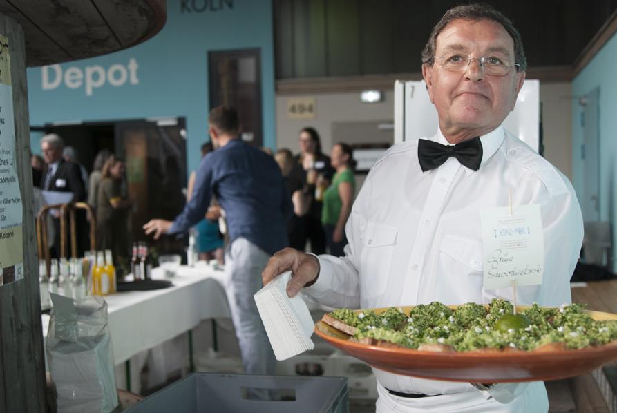 Die Kulturpaten-Ehrung begann, wie sie endete: mit leckerem Essen von kunz-mahl catering