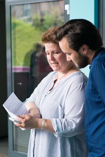 Sabine Döring und Daniel Veldhoen vom Schauspiel Köln