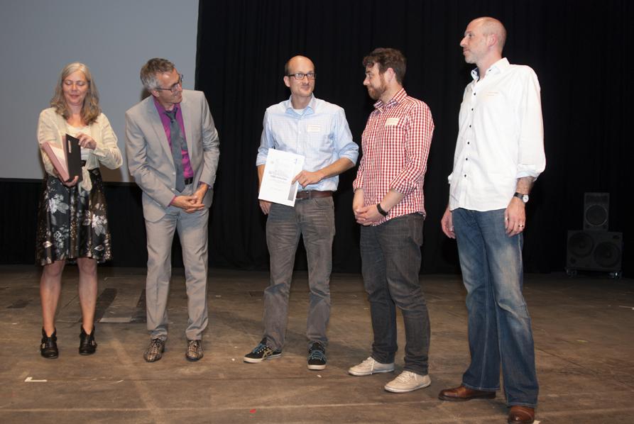 mit Christian Boeckmann, Michael Schwengers, Felix von Landsberg (PR-Agentur kleine republik)