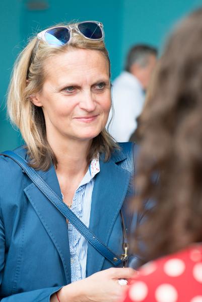 Die neue Pressereferentin des Kulturdezernats Anja Wildschütz