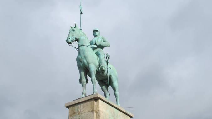 Das Kürassier-Denkmal in Deutz