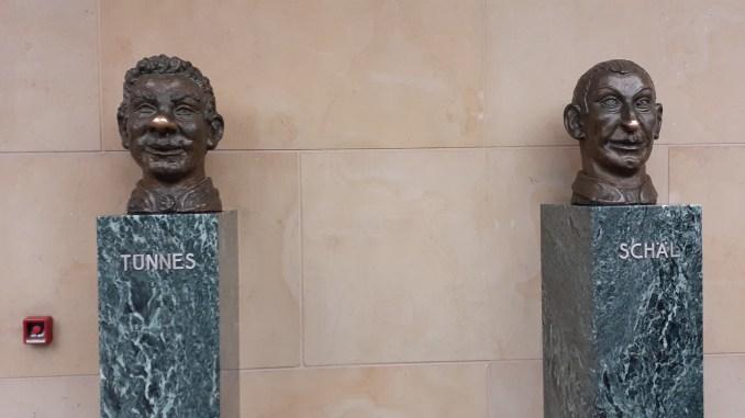 Tünnes und Schäl – Zwei Kölner Kultfiguren