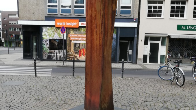 Kunst in Köln - Figur