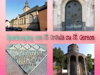 """Galerie zum Spaziergang""""Von St. Ursula zu St. Gereon (Kölschgänger)"""