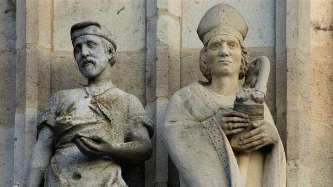 Links seht ihr Nikolaus von Verdun