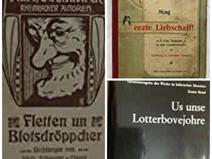 Buchcollage Walter-Clauß