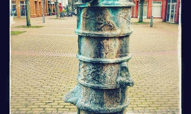 Der Nasenbrunnen in Ehrenfeld