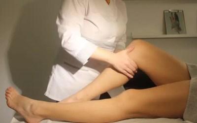 ¿Piernas hinchadas, pesadas?Drenaje linfático manual
