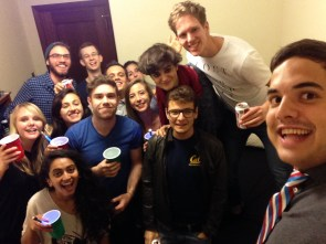 One last room 410 party! :D