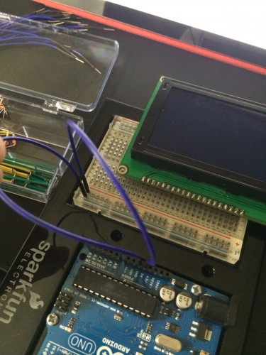 LCD To Breadboard
