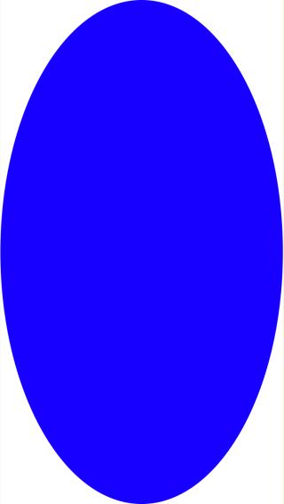 Leaking blue fill