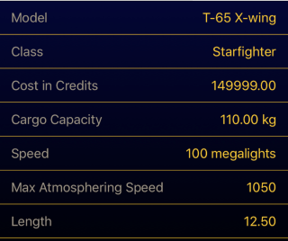 Starship detail gradient detail
