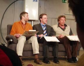 """""""Männerhort"""" im Packhaustheater Bremen (2006)"""
