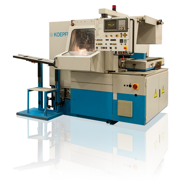 Koepfer Model 180 CNC Gear Hobbing Machine