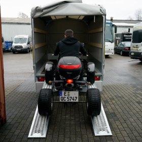 Anhänger-25to-Rampe