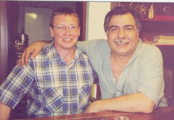 Paul Koerbin with Arif Sağ