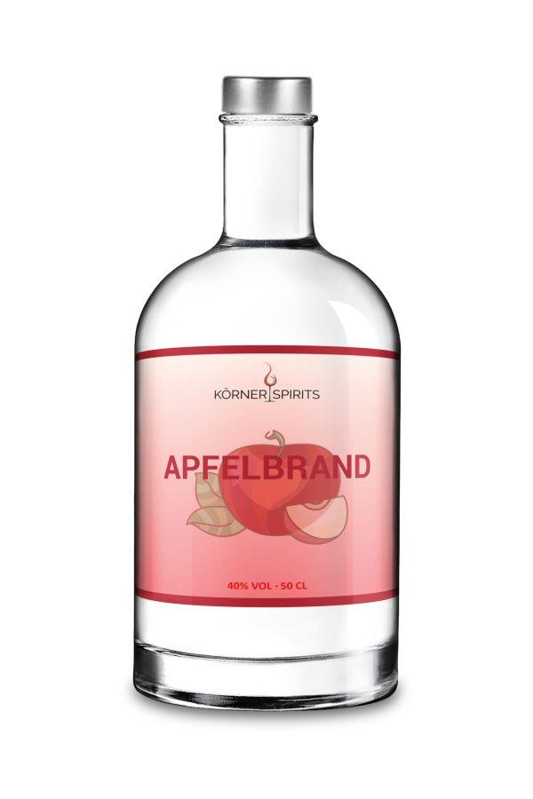 Körner Spirits Bramberg Ebern Familienbrennerei Apfelbrand 50cl 40%