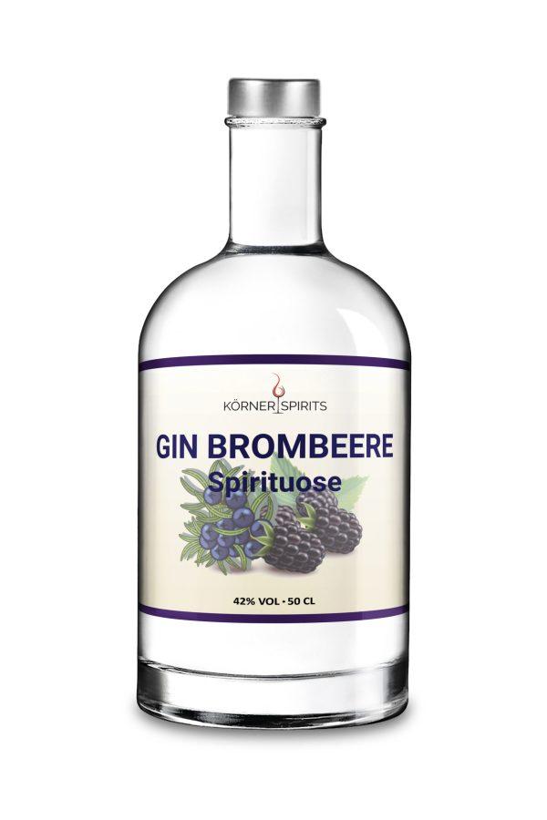 Körner Spirits Bramberg Ebern Familienbrennerei Gin Brombeere 50cl 42%