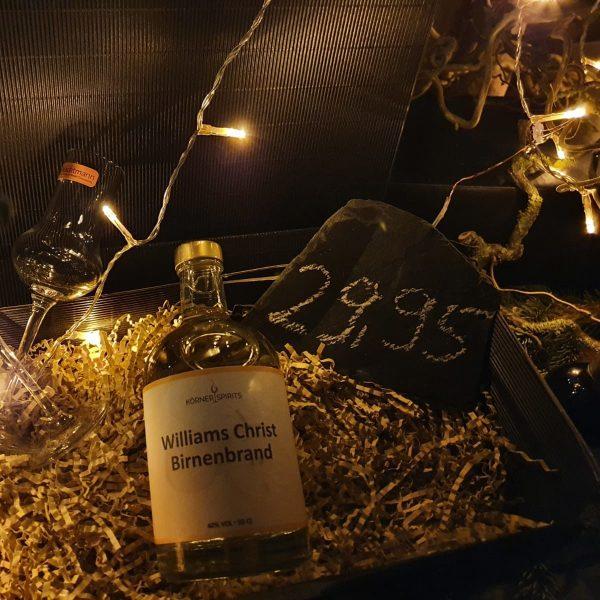 Körner Spirits Bramberg Ebern Familienbrennerei Winterangebot 2020 Williams-Christ Brand