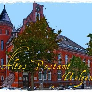Postkarte Uelzen Altes Postamt