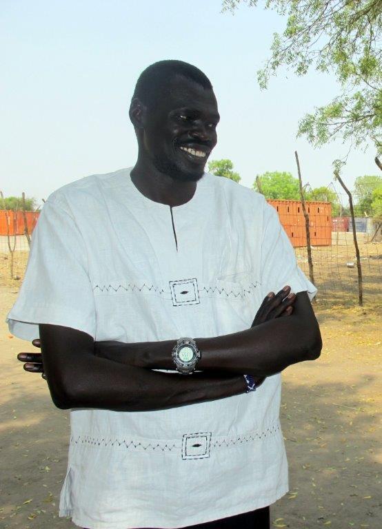 Gouverneur Koang Rambang Akobo (Foto Johannes Dieterich)