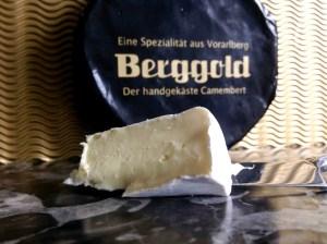Camembert Berggold von der Feinkäserei Bantel