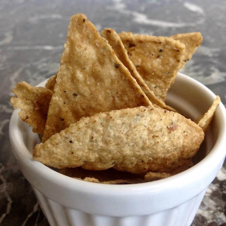 Tortilla Chips aus Vorarlberger Riebelmais von Richard Dietrich aus Lauterach