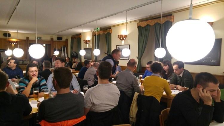 Volles Haus & beste Laune bei der Schlachtpartie 2016 im Unibräu vom VEREIN DER VORARLBERGER IN WIEN, (c) Verein der Vorarlberger in Wien