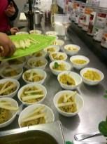 Couscous mit Spargelspitzen bei der Küchenparty von Heidis Exquisit Catering