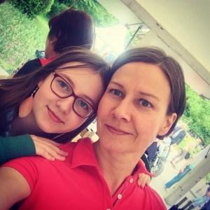 Saskia & Susanne Lohs am Stand von Köstliches aus Vorarlberg am Genussfestival 2017 im Stadtpark in Wien