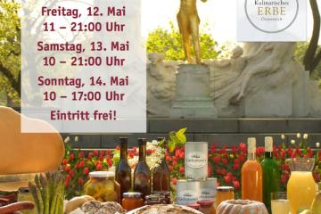 Screenshot des Flyers vom Genussfestival im Stadtpark in Wien 2017