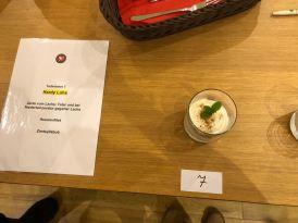 Hardys Dessert bei der Hobbykoch-Meisterschaft des ÖKGV im Miele Center