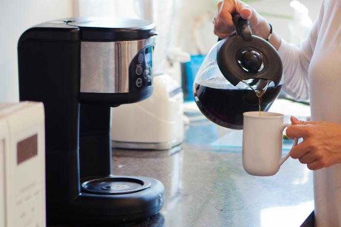 コーヒーを準備します