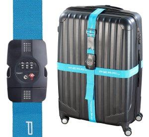 Blaues Kofferband von Pearl