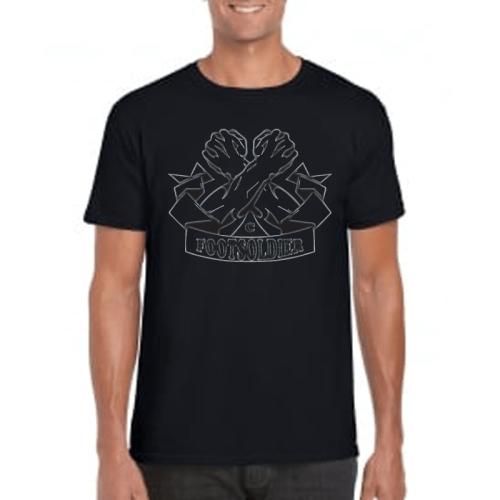 Carlton Leach Black T-Shirt Centre