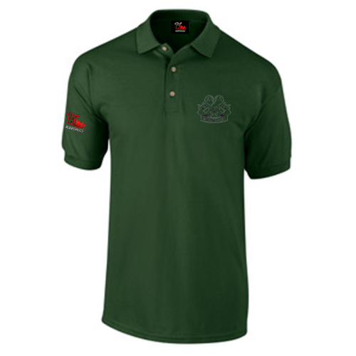 Carlton leach Polo Shirt Forest green