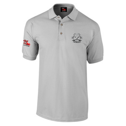 Carlton Leach Polo Shirt Grey