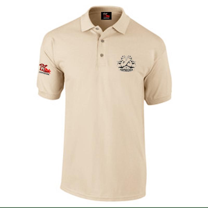 Carlton Leach Collection – Double Pique Polo Shirt