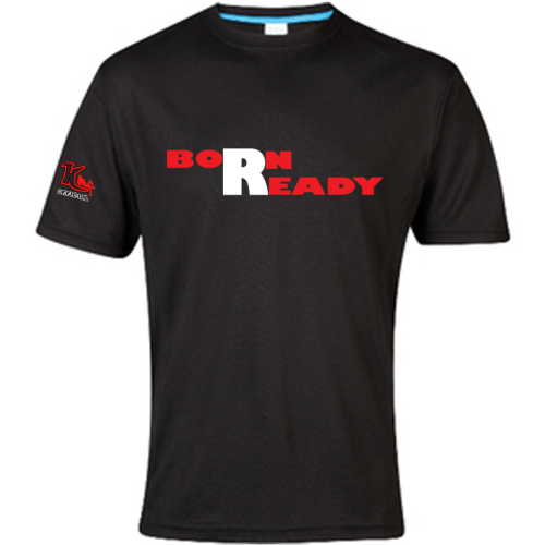 KOfficial Born Ready Performsnce T-shirt Black