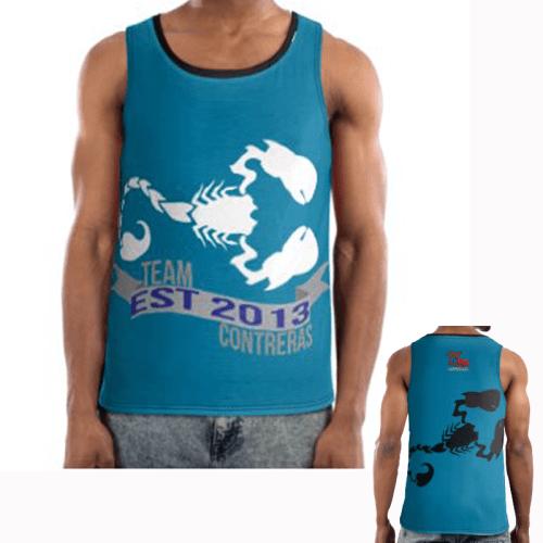Team Contreras Blue Vest