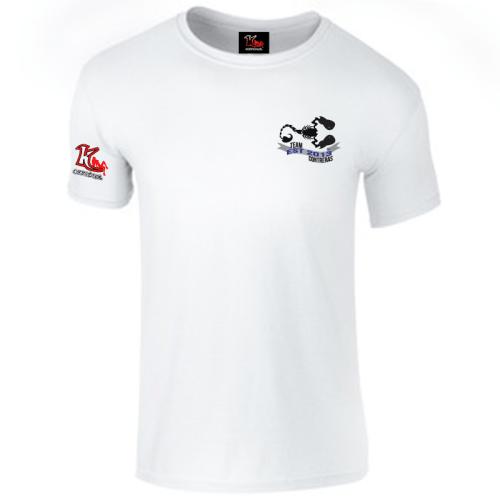 Team Contreras White t-shirt left chest