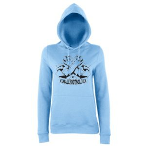 Carlton Leach Collection FemaleFootsoldier Hoodie
