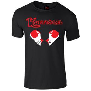 KO Boxing Gloves Black