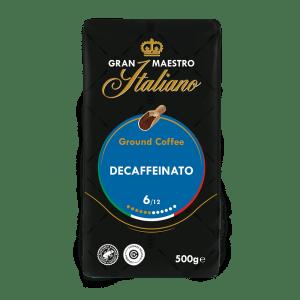 Gran Maestro Italiano - gemalen koffie - Decaffeinato