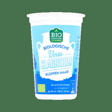 Jumbo Biologische Verse Slagroom 250 ml bij Jumbo