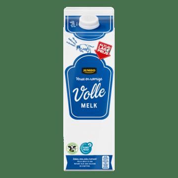 Jumbo Verse en Romige Volle Melk 1 L bij Jumbo