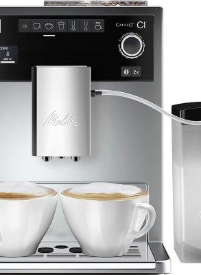 Melitta Caffeo CI E970-101 - Volautomaat Espressomachine - Zilver