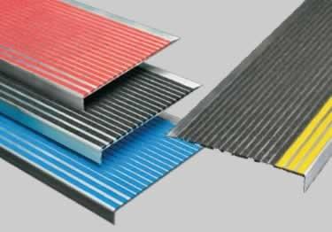 Metal Stair Treads Repair Dangerous Stairways | Outdoor Adhesive Stair Treads | Indoor Outdoor | Bullnose Carpet | Flooring | Carpet Stair | Tape Adhesive