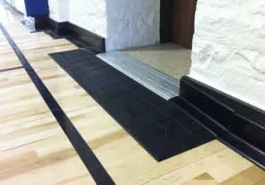 extra thick floor transition reducers